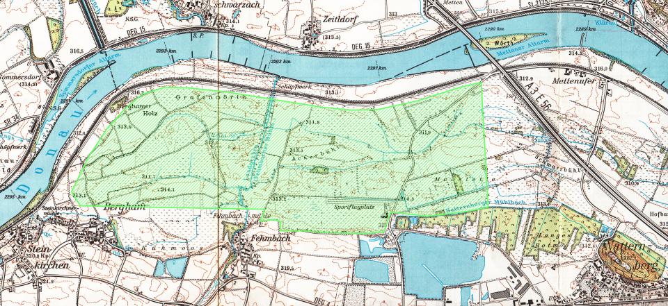 Projektgebiet für Wiesenbrüter