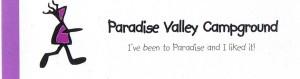 Visitenkarte von Paradise Valley / Kanada