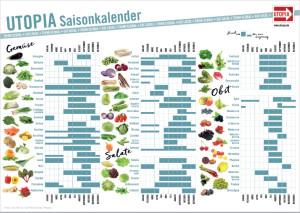 Utopia-Saisonkalender